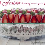 fraisier chantilly facile 2