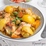 tajine de poisson, saumon